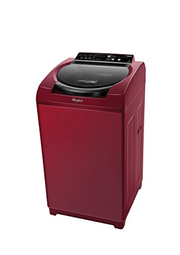 Whirlpool Stainwash Deep Clean Fully-automatic Top-loading Washing Machine (6.5 Kg, Wine)