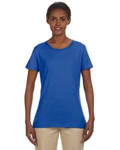 Jerzees Ladies' 5.6 oz.; 50/50 Heavyweight Blend� T-Shirt - ROYAL - L (Jerzees Blend Youth Heavyweight)