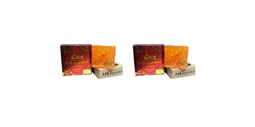 100% Soya Protein (Vcare 24K Gold Soap - Enriched With 24 K Gold & Soya Protein - Stay Young - 100g - Pack of 2)