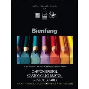 6 Pack BRISTOL BD 9x12 SMOOTH 20 shts Drafting, Engineering, Art (General Catalog) by Bienfang