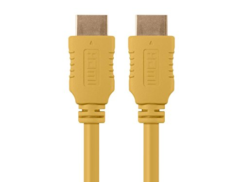 Monoprice 103955 Select 10 2Gbps Yellow