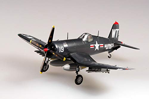 Easy Model US Grumman F4U Corsair Aircraft Fighter VMF-232 1/72 Non diecast Plane ()