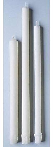 (Emkay Candles 73054 17-32 in. Altar Candle Stearic Molded - White, 1000 - Case)