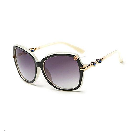 [HaiBote Gothic Punk Retro-Reflective Glasses Mens Colorful Retro Lady Sunglasses 883(C4)] (Neo Costumes Sunglasses)