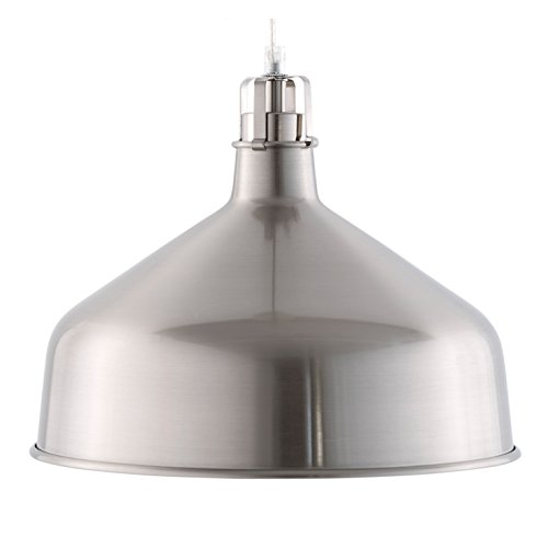 Light Society Banbury Pendant Light, Satin Nickel (LS-C167-NKL) (Nickel Island Light Satin)