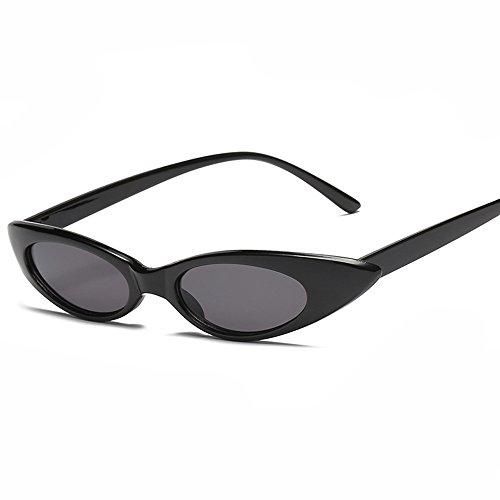 pour cat Gris eyes Nikauto lunettes Noir de femmes soleil dq4dAfP