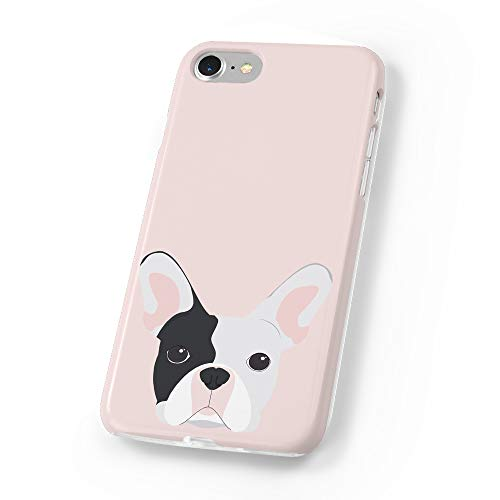 uCOLOR Case Compatible iPhone 6S 6 iPhone 8/7 Cute Protective Case Pink Dog Slim Soft TPU Silicon Shockproof Cover Compatible iPhone 6s/6/7/8(4.7