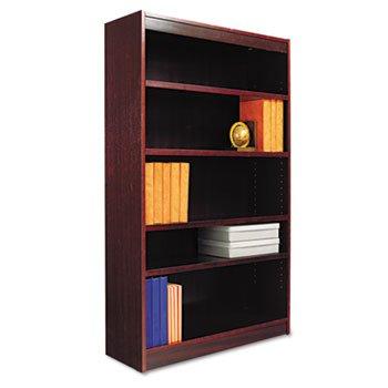 Alera BCS56036 Square Corner Wood Veneer Bookcase