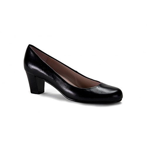 zeddea Napoles negro - zapatos de tacón cómodos para mujer