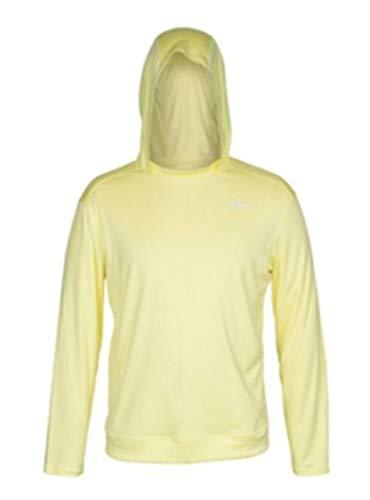 HABIT Men's Hooded Performance Layer, Elfin Yellow, -