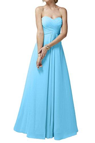 Ivydressing -  Vestito  - linea ad a - Donna Blau 44