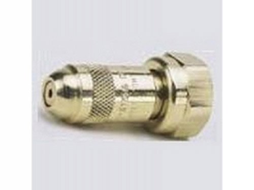 TeeJet 5500-X1 Adjustable Spray Tip, 20-150 psi, Brass - Silver