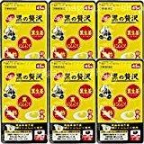 和漢 黒の贅沢(旧:黒にんにく 卵黄黒酢) 6個 B00EYS40BO
