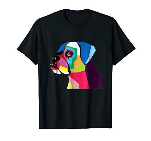 Mens Dogs T-shirt Boxer (boxer dog t-shirt for men women)
