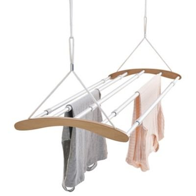 Modern Extendable Ceiling Airer to Maximise Drying Space Up to 1.4m