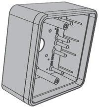 LCN 8310867S 8310-867S Box, 4.75'' x 4.75'' Surface Mount by Lcn