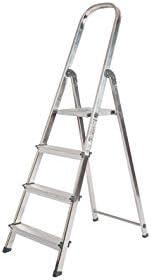 Escalera Rolser Aluminio Unica 4 Peldaños: Amazon.es: Bricolaje y ...