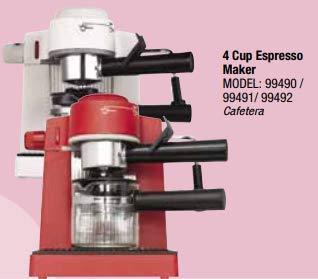 (Premium PEM350 Espresso Cappuccino Latte Maker Coffee Machine, Hot Milk Steamer)
