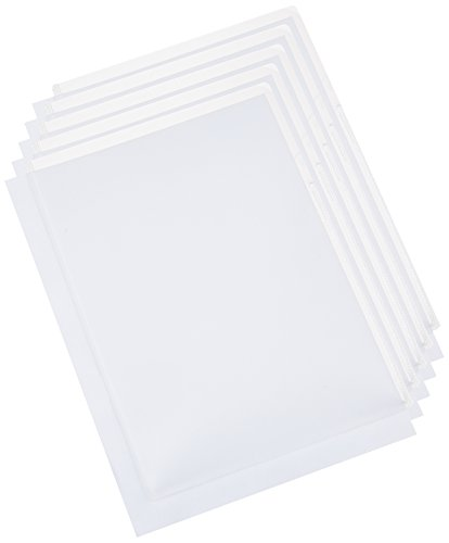 Brother Printer CS-CA001 Plastic Card Carrier Sheet for ADS Document Scanners, 5 Pack - Retail Packaging
