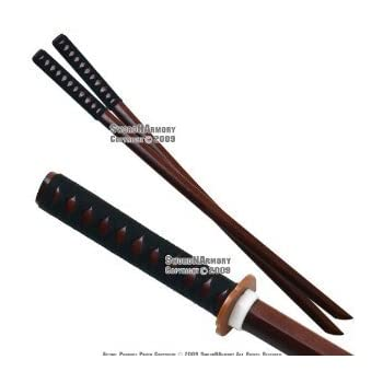 Amazon.com : BladesUSA C418 Samurai Wooden Training Sword ...