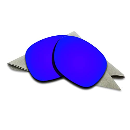 Violet Purple Mirrored Polarized Lenses Replacement for Oakley Garage Rock Sunglasses