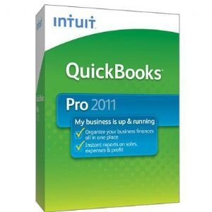 Quickbooks Pro 2011 1 user