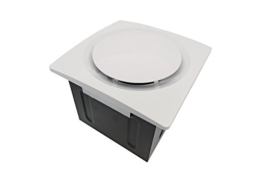 Aero Pure SBF 80 G6 W 80-CFM Super Quiet Bathroom Ventilation Fan, Energy Star Qualified, White