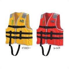ocean life(オーシャンライフ) 国土交通省型式承認ライフジャケット 小型船舶小児用救命胴衣 Jr-1M型 Mイエロー Jr-1M型 イエローの商品画像
