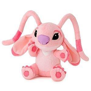 (Disney Angel Plush Lilo and Stitch Mini Bean Bag Toy 6