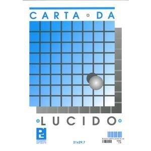 BLOCCO CARTA LUCIDA 21X29, 7 FABRIANO