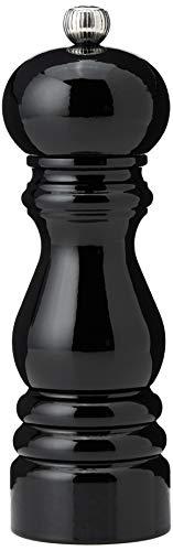 Peugeot 1870418/SME Paris Classic Salt Mill, 7-Inch, Black Lacquer (Black Lacquer Mill Pepper)