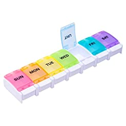 BUG HULL Pill Organizer Arthritis Friend...