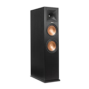Klipsch RP-280FA Floorstanding Speaker Black Veneer (Each)