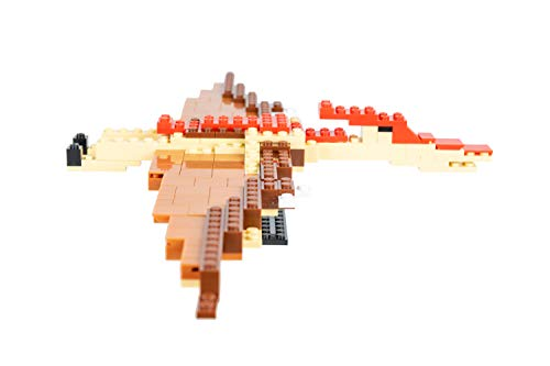 Strictly Briks - Pterodactyl Classic Briks Dinosaur Building Set - 247 Piece Toy - 100% Compatible with All Major Building Brick Brands