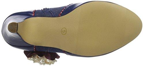 Joe Browns Women's Fabulous Corsage Shoe Boots Mary Jane Blue (A-blue) ffwNJ5nyR