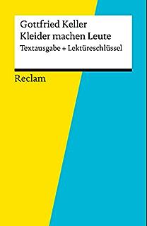 Kleider Machen Leute Reclam Xl Text Und Kontext Ebook Gottfried