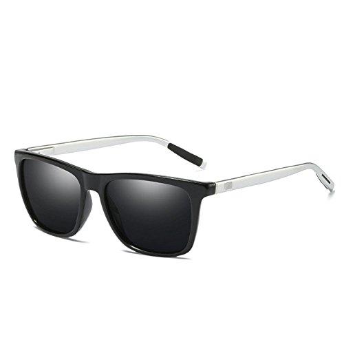 vintage pour femmes de des polarisées mode aluminium unisexes en colorées de gray hommes Lunettes de mode soleil wqO0Zzx7