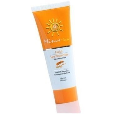 Minus-sol (Minus-sun) Facial Sun Spf 40 Pa+++ Ultra Protect Duo Effect Anti-aging Ivory 1.59 Ounce