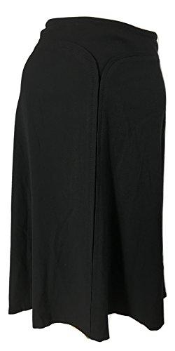 Elie Tahari Wool Skirt - Elie Tahari Women's Belinda Wool-Blend A-Line Knee-Length Skirt, Black, 0