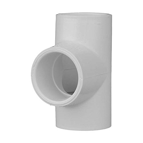 Pvc Pressure Pipe Fittings - Charlotte Pipe 3/4 SCH 40 Tee Sxsxs Contractor Pack PVC Pressure (10 Unit Pack)