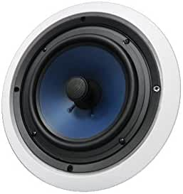 82C Silver Ticket In-Wall In-Ceiling Speaker with Pivoting Tweeter (8 Inch in-ceiling)