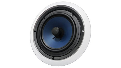 82C Silver Ticket In-Wall In-Ceiling Speaker with Pivoting Tweeter (8 Inch in-ceiling) by Silver Ticket Products