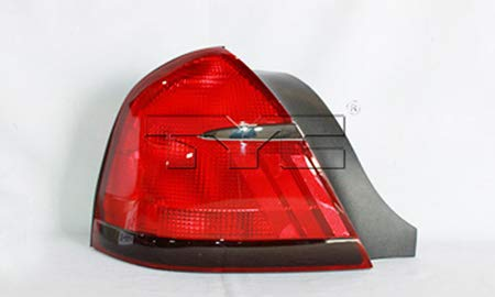 Fits 1999-2002 Mercury Grand Marquis Tail Light Driver Side FO2818124 - Replaces F8MZ 13405 AA ;