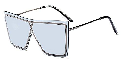 03 y Hombre UV400 de Gafas estilo Verano Unisex para Último Mujer Estilo BOZEVON de sol PXwqv6x