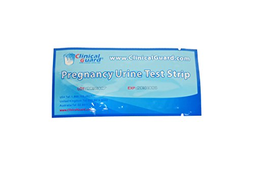 ClinicalGuard® HCG Pregnancy Test Strips (Individually-Sealed, Pack of 50) by ClinicalGuard (Image #3)