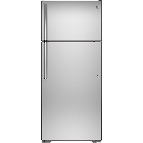 GE GIE18HSHSS 17.6 Cu. Ft. Stainless Steel Top Freezer Refrigerator - Energy Star