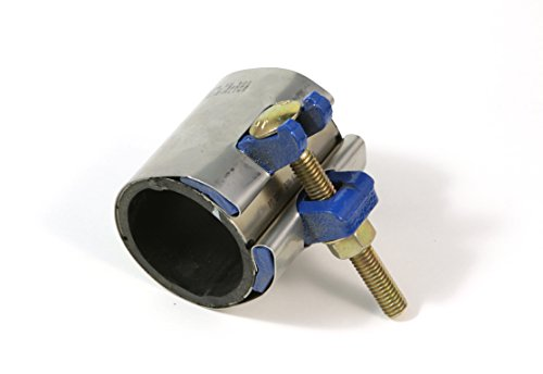 1 1/2'' Pipe Repair Clamp for Steel, PVC and HDPE by B & S Products Company