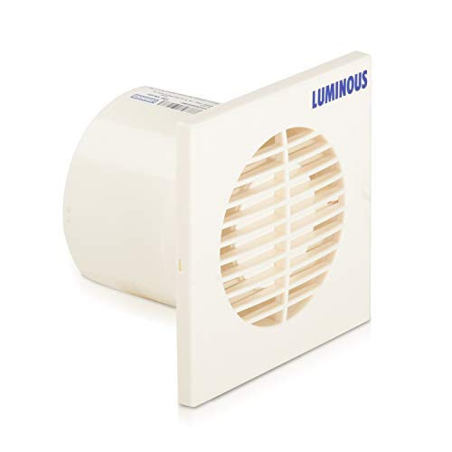 Luminous Vento Axial 150mm Exhaust Fan for Home, Office, Kitchen and Bathroom (7 inches, White)