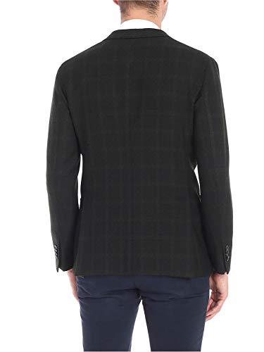 Black Men's Blazer Boglioli N1302jbcm4150590 Wool qxAxpEnOw