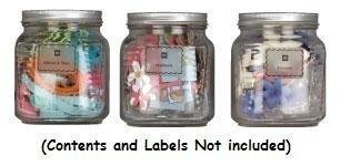 MAKING MEMORIES Storage Jars, 3-Pack, Large